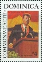 [The 25th Anniversary of the Death of John F. Kennedy (American Statesman), 1917-1963, Typ AMI]