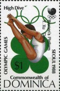[Olympic Medal Winners - Seoul, South Korea - Issues of 1988 Overprinted, Typ ANN]
