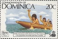 [The 500th Anniversary (1992) of Discovery of America by Columbus - Pre-Columbian Carib Society, Typ ANQ]