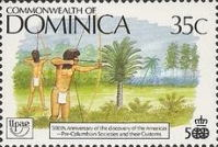 [The 500th Anniversary (1992) of Discovery of America by Columbus - Pre-Columbian Carib Society, Typ ANR]