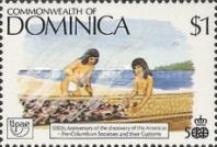 [The 500th Anniversary (1992) of Discovery of America by Columbus - Pre-Columbian Carib Society, Typ ANS]