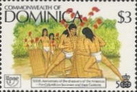 [The 500th Anniversary (1992) of Discovery of America by Columbus - Pre-Columbian Carib Society, Typ ANT]