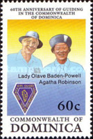 [The 60th Anniversary of Girl Guides in Dominica, Typ ARG]