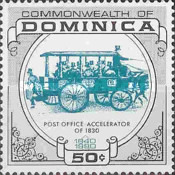 [The 150th Anniversary of the Penny Black - Historical Post Vehicles, type ASG]