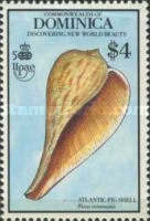 [The 500th Anniversary (1992) of Discovery of America by Columbus - New World Natural History - Seashells, Typ ASR]