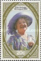 [The 90th Anniversary of the Birth of Queen Elizabeth the Queen Mother, 1900-2002, Typ ATK]