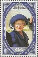 [The 90th Anniversary of the Birth of Queen Elizabeth the Queen Mother, 1900-2002, Typ ATL]
