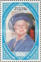 [The 90th Anniversary of the Birth of Queen Elizabeth the Queen Mother, 1900-2002, Typ ATM]