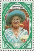 [The 90th Anniversary of the Birth of Queen Elizabeth the Queen Mother, 1900-2002, Typ ATN]