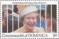 [The 65th Anniversary of the Birth of Queen Elizabeth II, type AWN]