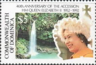 [The 40th Anniversary of Queen Elizabeth II's Accession, Typ AZC]