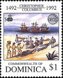 [The 500th Anniversary of Discovery of America by Columbus - Organization of East Caribbean States, Typ BCZ]