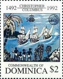 [The 500th Anniversary of Discovery of America by Columbus - Organization of East Caribbean States, Typ BDA]