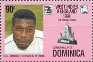 [The 100th Anniversary (1995) of First English Cricket Tour to the West Indies, Typ BNX]