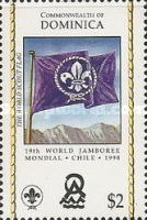 [The 19th World Scout Jamboree, Chile, Typ COA]