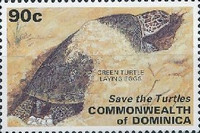 [Save the Turtles Campaign - Issues of 1993 Overprinted