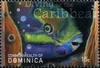 [Diving in the Caribbean - Depicting Marine Life, Typ DIN]