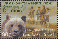 [The 200th Anniversary (2004) of Lewis and Clark's Expedition to the American West and Pacific North West, Typ DVG]