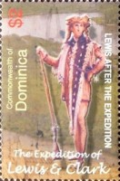 [The 200th Anniversary (2004) of Lewis and Clark's Expedition to the American West and Pacific North West, Typ DVI]