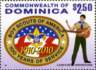 [The 100th Anniversary of Boy Scouts of America, Typ ETD]