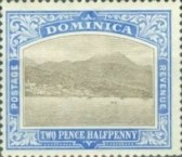 [Roseau, Capital of Dominica - New Watermark, Typ G12]