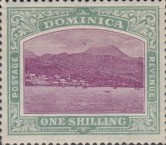 [Roseau, Capital of Dominica - New Watermark, Typ G15]