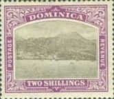 [Roseau, Capital of Dominica - New Watermark, Typ G16]