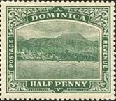 [Roseau, Capital of Dominica - New Colors, type G20]
