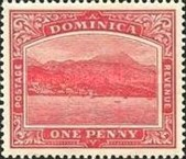 [Roseau, Capital of Dominica - New Colors, type G22]