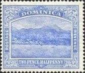 [Roseau, Capital of Dominica - New Colors, type G24]