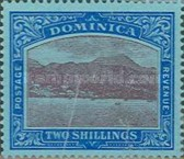 [Roseau, Capital of Dominica - New Colors, type G28]