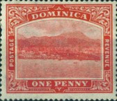 [Roseau, Capital of Dominica - New Watermark, Typ G31]