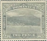 [Roseau, Capital of Dominica - New Watermark, type G33]