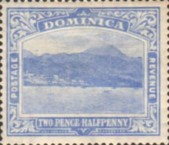 [Roseau, Capital of Dominica - New Watermark, Typ G34]