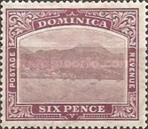 [Roseau, Capital of Dominica - New Watermark, Typ G35]