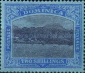[Roseau, Capital of Dominica - New Watermark, type G36]
