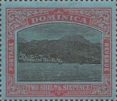 [Roseau, Capital of Dominica - New Watermark, type G37]