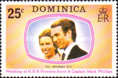 [Royal Wedding of Princess Anne and Captain Mark Phillips, Typ JD]