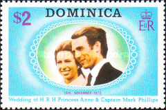 [Royal Wedding of Princess Anne and Captain Mark Phillips, Typ JE]