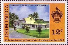 [The 25th Anniversary of West Indies University, Typ JK]