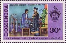 [The 25th Anniversary of West Indies University, Typ JL]