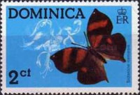 [Dominican Butterflies, type KX]