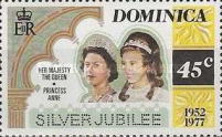 [The 25th Anniversary of the Reign of Queen Elizabeth II, Typ OM]