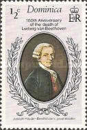 [The 150th Anniversary of the Death of Ludwig van Beethoven, Typ OQ]