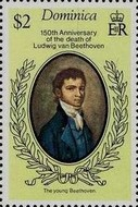 [The 150th Anniversary of the Death of Ludwig van Beethoven, Typ OW]