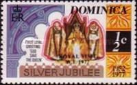 [Royal Visit - Issues of 1977 Overprinted