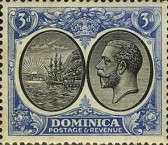 [Seal of Colony & King George V - Different Watermark, Typ R11]