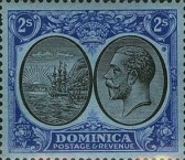 [Seal of Colony & King George V - Different Watermark, Typ R16]