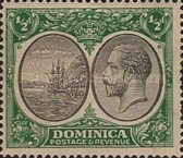 [Seal of Colony & King George V - Different Watermark, type R3]