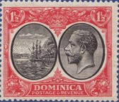 [Seal of Colony & King George V - Different Watermark, type R6]